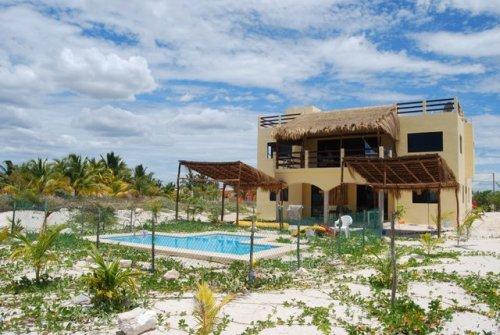 Beach House, view from beach